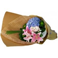 Hydrangea Lilly Bouquet