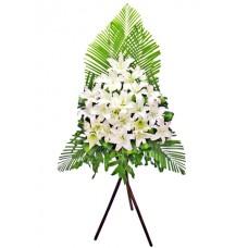 Sympathy Flowers arrangement 8